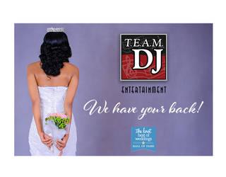 TEAM DJ digital ads by JohnRose-Illustrator