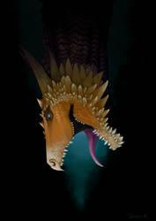 Dragon study 2 by Thanda