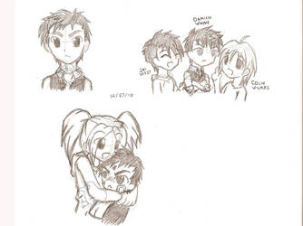 Random Sketches by Nusaki