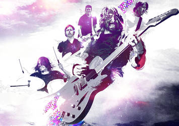FooFighters for Entertainment Weekly by Espador
