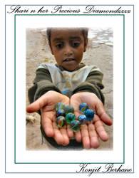 Shari n Her precious things by konjit