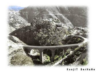 train bridge by konjit