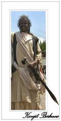 The sword man by konjit