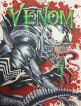 Venom / Xenomorph by daveracer