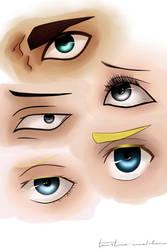 Soldier's eyes by UchihaAngela