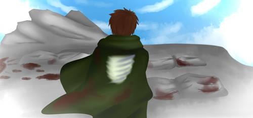 Alone In the Debris by UchihaAngela