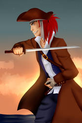 Pirate Abarai by UchihaAngela