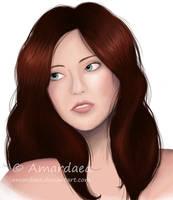 Portrait by amardaea