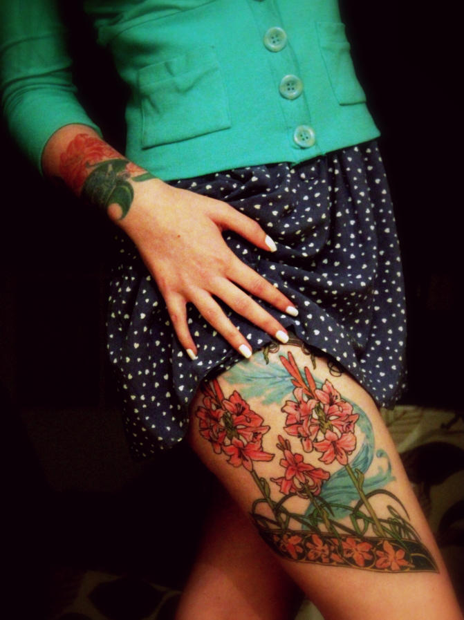 He wanted a girl with tattoos by pissboy