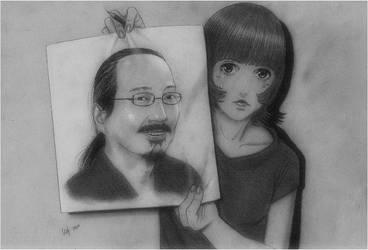 Satoshi Kon 1963-2010 by Whoppeth