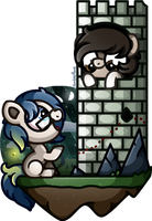 [MLP] Pankilik and Maddie (PC) by AmberPone