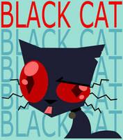 BLACK CAT by AmberPone