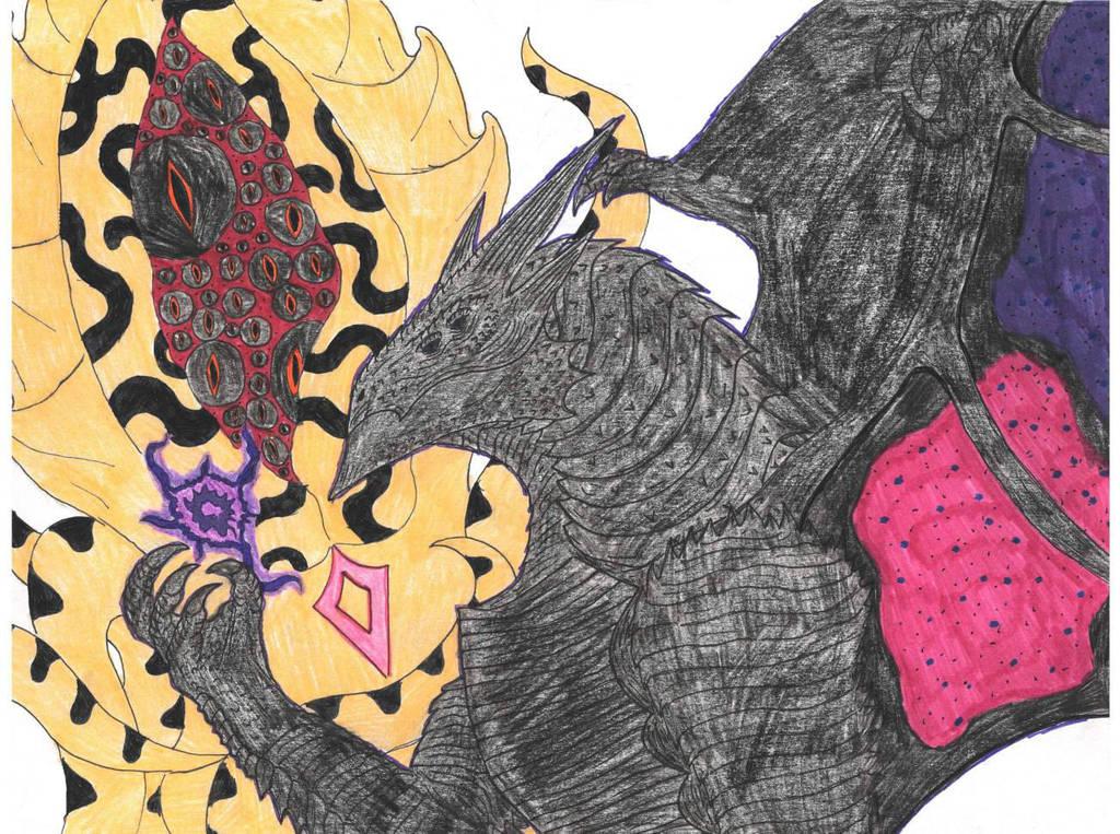 Stygian  Mephistopheles Art Trade by PrimalMatt97