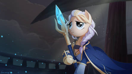 Ponified Jaina: Daughter of the Sea by Jeremywithlove