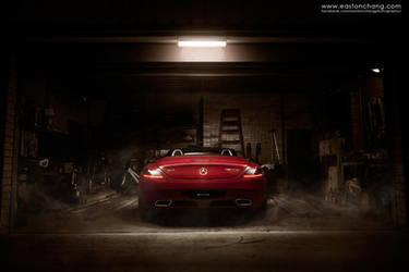 SLS AMG Garage by eastonchang