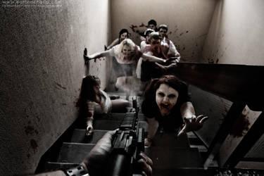 Zombie Shoot by eastonchang