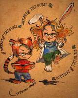 Tiger and Rabbit by Tatsumi-sama