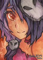 ACEO 34 - Kuro by gowen-production