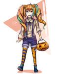 CE Halloween Gijinka by Kuroe911