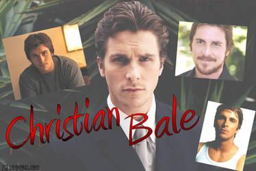 Christian Bale Wallpaper by leahandjake