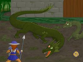 Swamp Dragons by Kairu-Hakubi