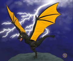 Thunder Dragon by Kairu-Hakubi