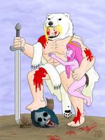 Manly Finn in a Polar Bear Skin by Kairu-Hakubi
