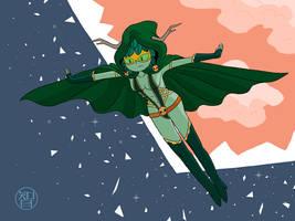 Gamora Wizard by Kairu-Hakubi
