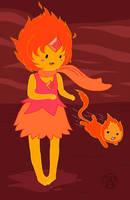 Loli Flame Princess by Kairu-Hakubi