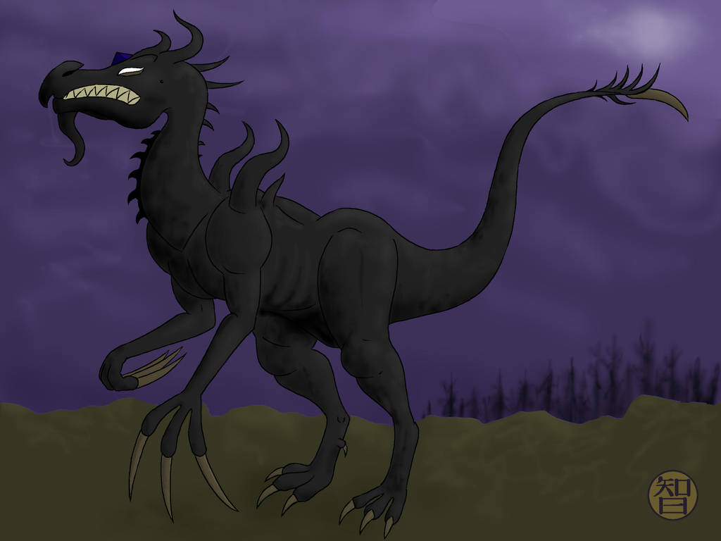 Midnight Dragon by Kairu-Hakubi