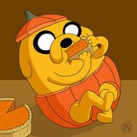 Pumpkin Time - Jake by Kairu-Hakubi