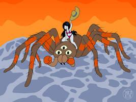 Spider Rider Marcie by Kairu-Hakubi