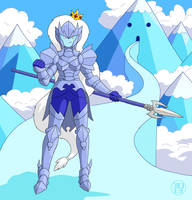 Armored Ice Queen by Kairu-Hakubi