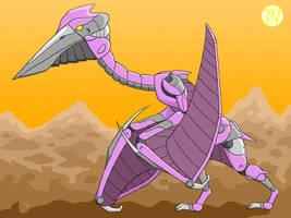 Quetzalcoatlus Organoid by Kairu-Hakubi
