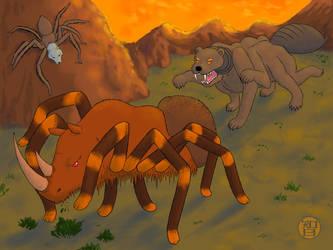 Things That Are Spiders - part 2 by Kairu-Hakubi