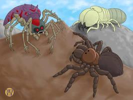 Things That Are Spiders - part 3 by Kairu-Hakubi