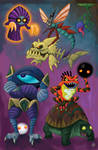 MMZ - Monsters by Kairu-Hakubi