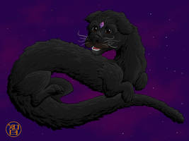 Luckdragon Molly by Kairu-Hakubi