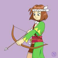 Yumi fanart by Kairu-Hakubi