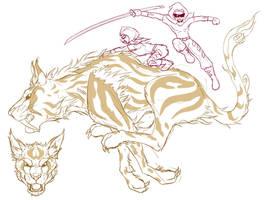 Questri - Hender and Shibura by Kairu-Hakubi