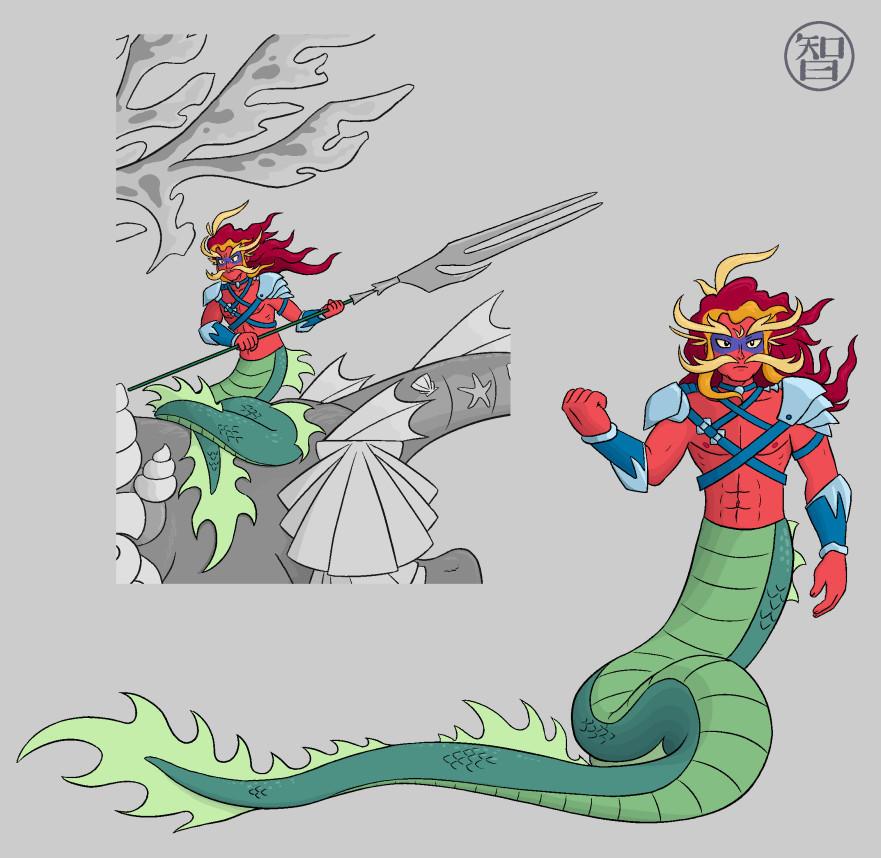Questri - Seamaster by Kairu-Hakubi