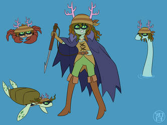 Huntress Pirate Wizard by Kairu-Hakubi