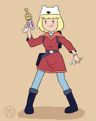 Battle-ready Minerva by Kairu-Hakubi