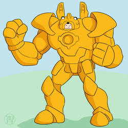 Jake Mech by Kairu-Hakubi