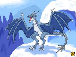 Mountain Dragon by Kairu-Hakubi