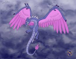 Storm Dragon by Kairu-Hakubi