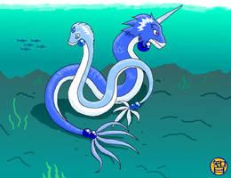 Ice Dragons - better this time by Kairu-Hakubi