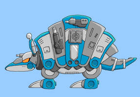 DC CannonBall color by Kairu-Hakubi