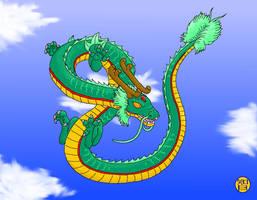 Rain Dragon or Shen Long by Kairu-Hakubi