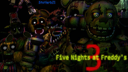 (SFM) Five Nights At Freddy's 3 by stotlerb21